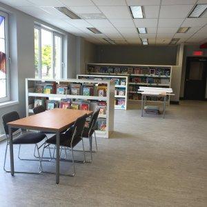 Bibliothèque municipale-scolaire de Daveluyville