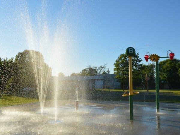 Jeux d'eau du Parc Beaudoin