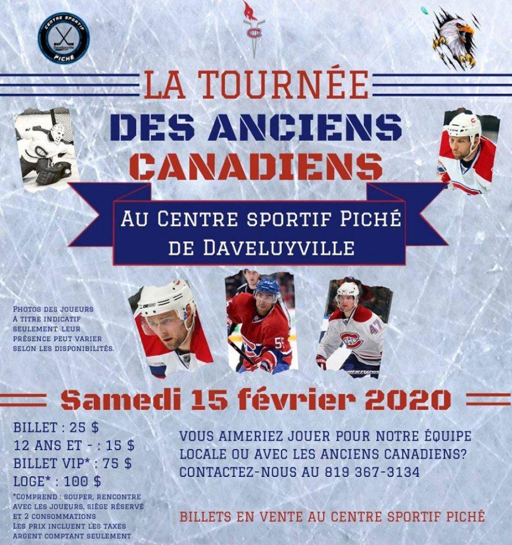La Tournée des Anciens Canadiens à Daveluyville