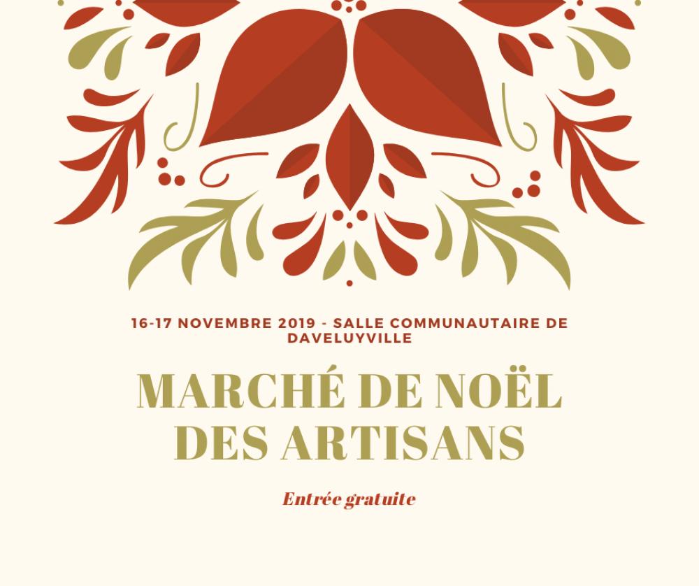 Marché de Noël des artisans