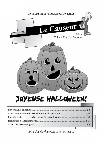Causeur d'octobre 2019