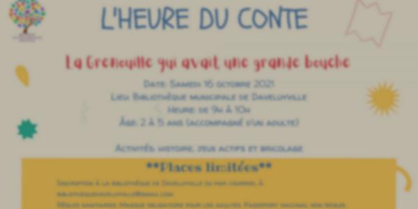 Heure du conte - Bibliothèque municipale